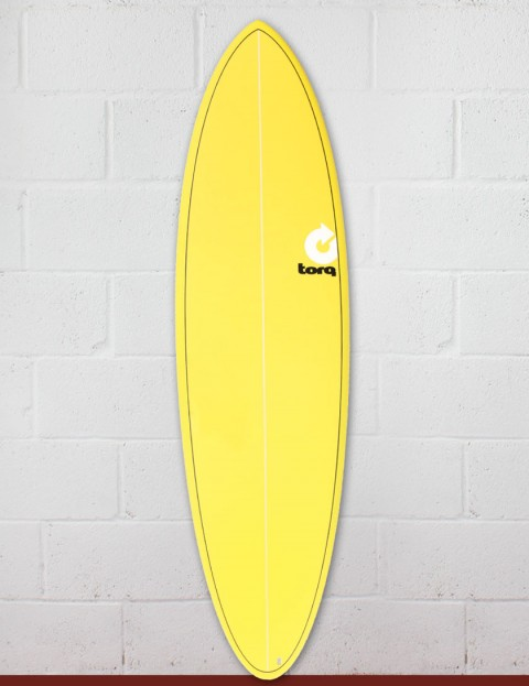 Torq Mod Fun Surfboard 6ft 8 - Yellow