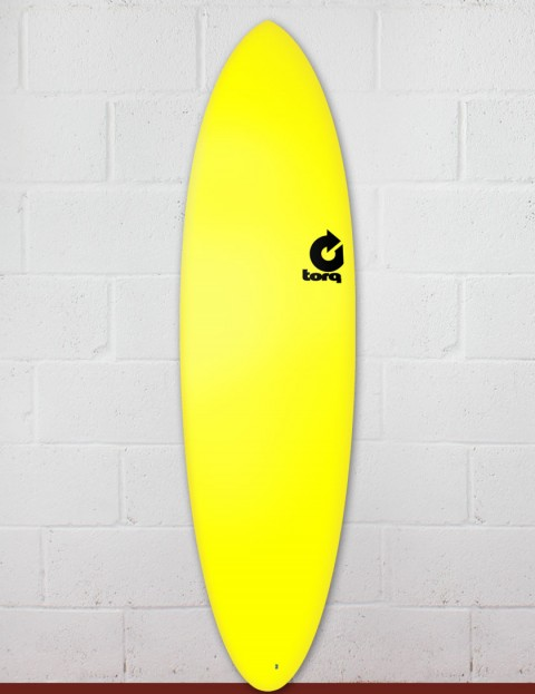 Torq Fun Soft & Hard surfboard 6ft 8 - Yellow