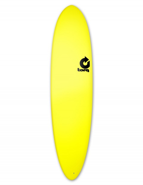 Torq Fun Soft & Hard surfboard 7ft 6 - Yellow