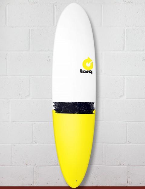 Torq Mod Fun surfboard 7ft 6 - Yellow Tail Dip