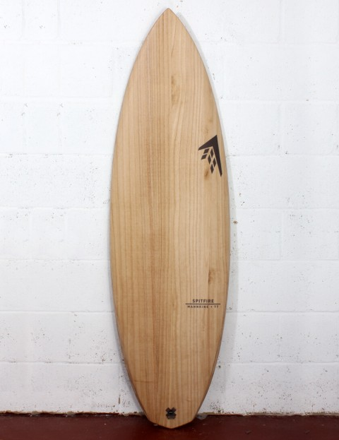 Firewire Timbertek Spitfire Surfboard 5ft 10 Futures - Natural Wood