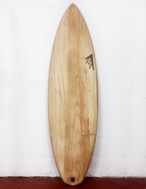 Firewire Timbertek Spitfire Surfboard 6ft 4  FCS II - Natural Wood