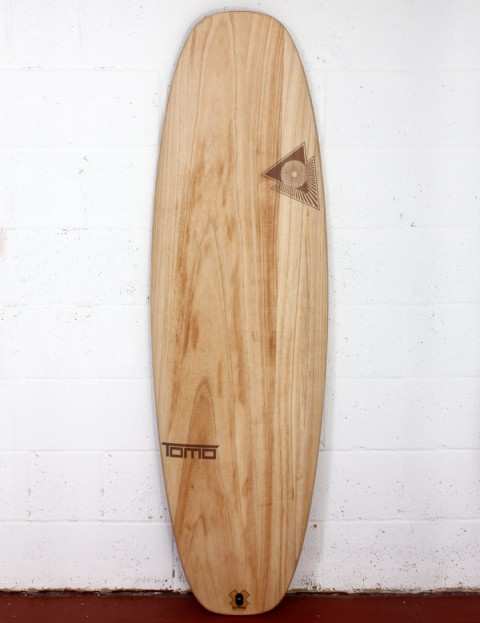 Firewire Timbertek Evo surfboard 5ft 6 FCS II - Natural Wood
