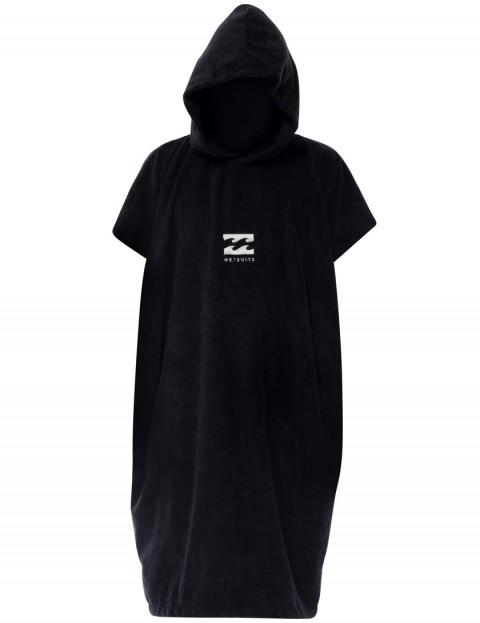Billabong Vader Hoodie Towel - Black