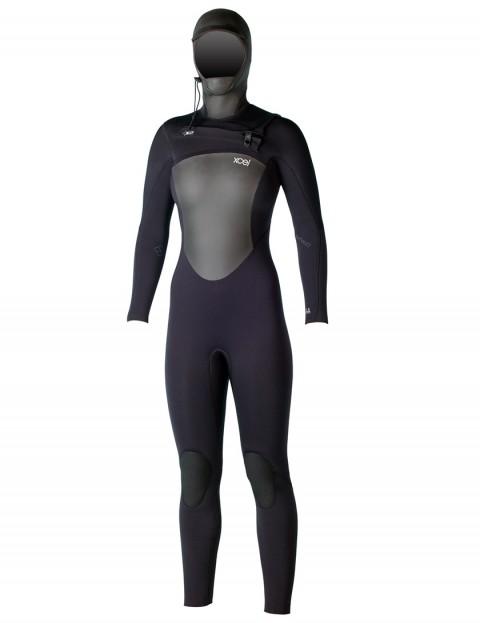 Xcel Ladies Infiniti X2 Front Zip 6/5mm Hooded Wetsuit 2016 - Black