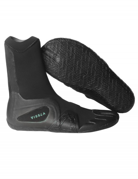 Vissla 7 Seas Split Toe 3mm wetsuit boots - Black