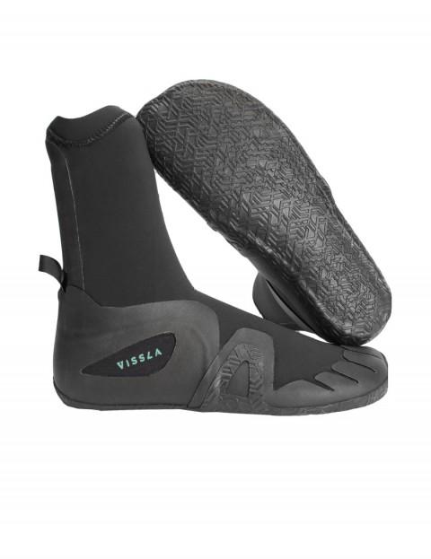 Vissla 7 Seas Round Toe 5mm wetsuit boots - Black