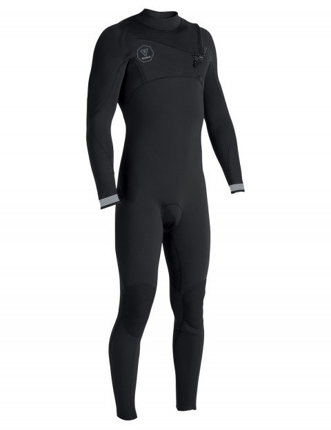 Vissla 7 Seas Chest Zip 4/3mm wetsuit 2018 - Black Fade