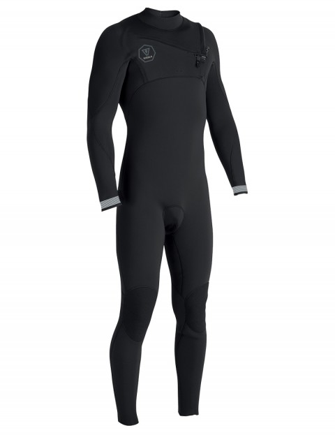 Vissla 7 Seas Chest Zip 5/4mm wetsuit 2018 - Black Fade