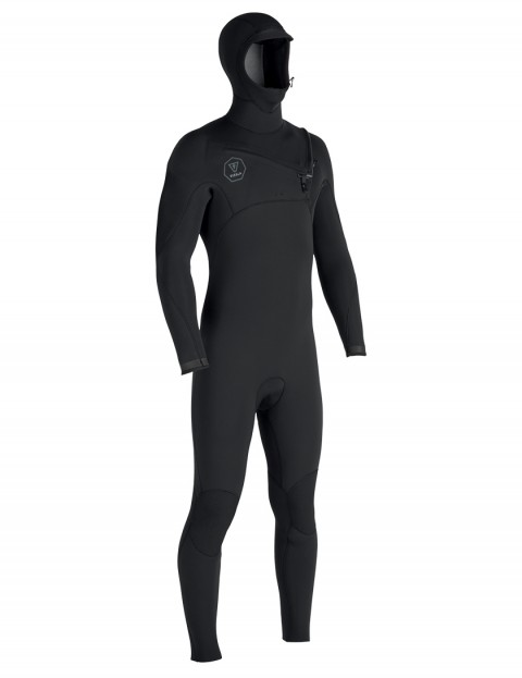 Vissla 7 Seas Hooded 5/4/3mm wetsuit 2018 - Black Fade