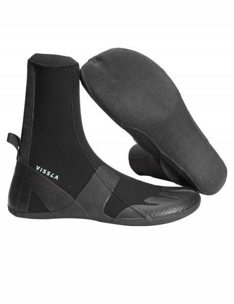 Vissla High Seas Split Toe 3mm wetsuit boots - Black