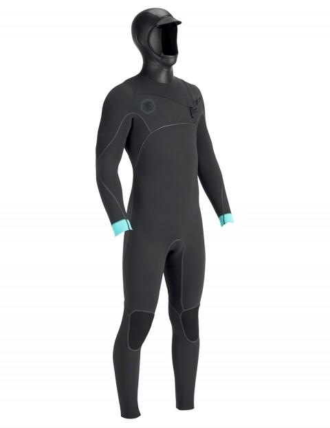 Vissla North Seas Hooded 5.5/4.5mm wetsuit 2018 - Dark Grey Smoothy