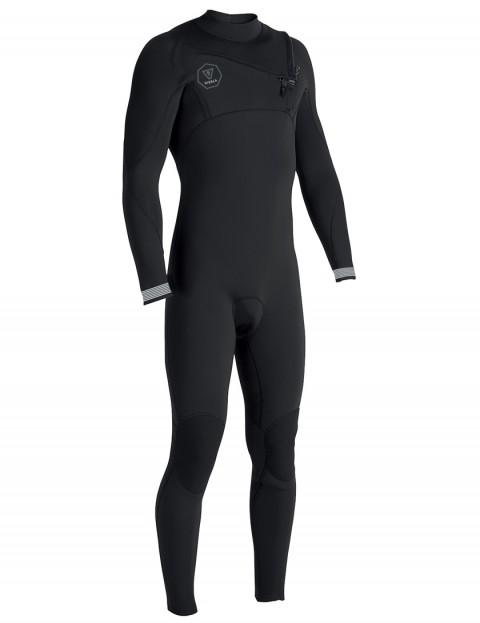 Vissla 7 Seas Chest Zip 3/2mm Wetsuit 2018 - Black Fade
