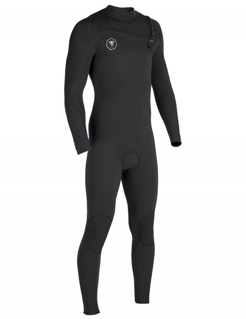 Vissla 7 Seas Chest Zip 5/4mm wetsuit - Black Jade