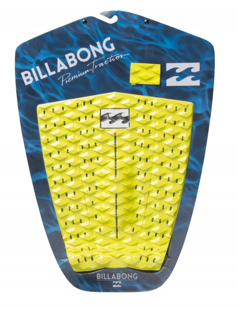 Billabong Re Issue surfboard tail pad - Lime