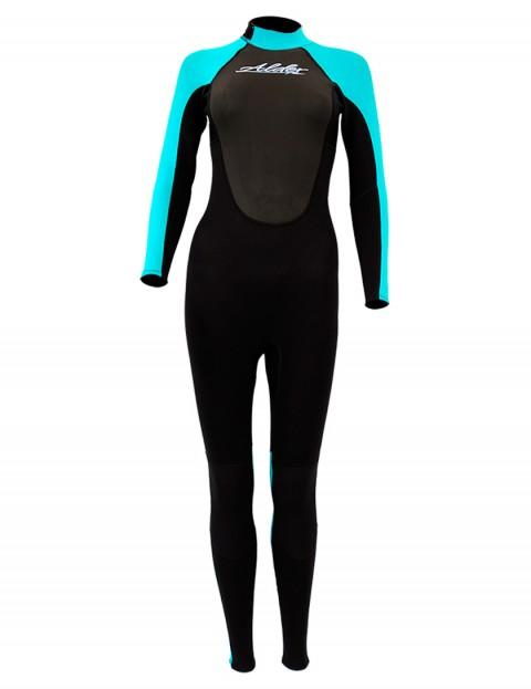 Alder Ladies Impact 3/2mm wetsuit 2017 - Turquoise