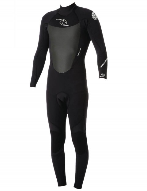 Rip Curl Dawn Patrol back Zip 3/2mm Wetsuit 2016 - Black