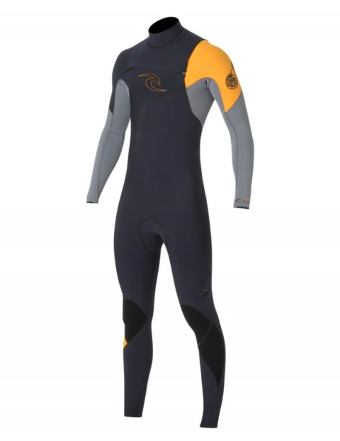 Rip Curl E Bomb Chest Zip 3/2mm Wetsuit 2016 - Slate