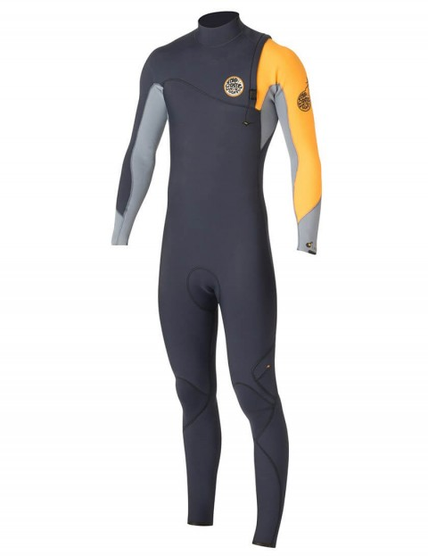 Rip Curl Flash Bomb Zip Free 3/2mm Wetsuit 2016 - Slate