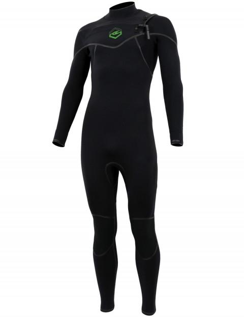 Alder Evo Fire Chest Zip 5/4/3mm wetsuit 2017 - Black