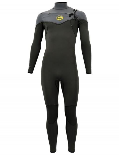 Alder Evo Fire Chest Zip 5/4/3mm wetsuit 2017 - Grey