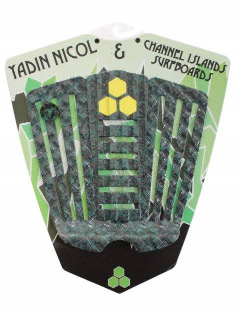 Channel Islands Yadin Nicol surfboard tail pad - Camo