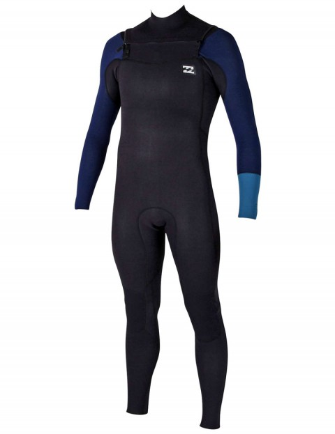 Billabong Revolution Tri Bong Chest Zip 5/4mm Wetsuit 2017 - Petrol