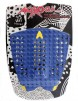 Astrodeck New Nathan Surfboard Tail Pad - Blue/Yellow