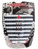 Astrodeck Danny Fuller Surfboard Tail Pad - Black/White