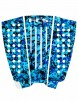 FCS Julian Wilson Surfboard Tail Pad - Blue Camo/White
