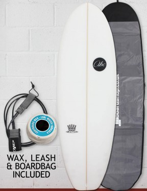 ABC Mash King surfboard package 5ft 8 - White