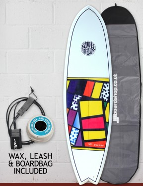 Cortez Fish surfboard package 6ft 3 - 10 Series Sanded