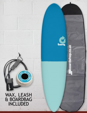 Torq Mod Fun surfboard package 7ft 6 - Fifty/Fifty