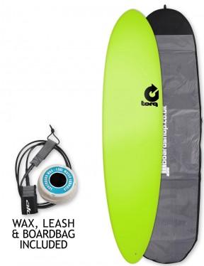 Torq Fun Soft & Hard surfboard package 7ft 6 - Green