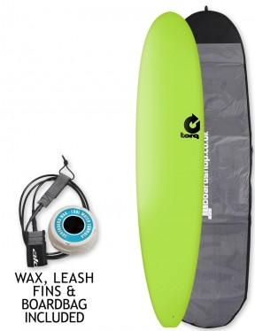 Torq Long Soft & Hard surfboard 8ft 6 package - Green