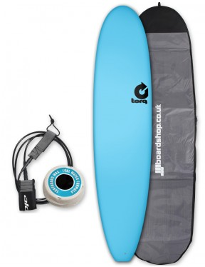 Torq Long Soft & Hard surfboard package 8ft - Blue