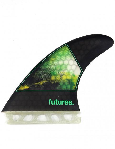 Future Fins Jordy Smith (Large) Tri fin set - Smoke/Green