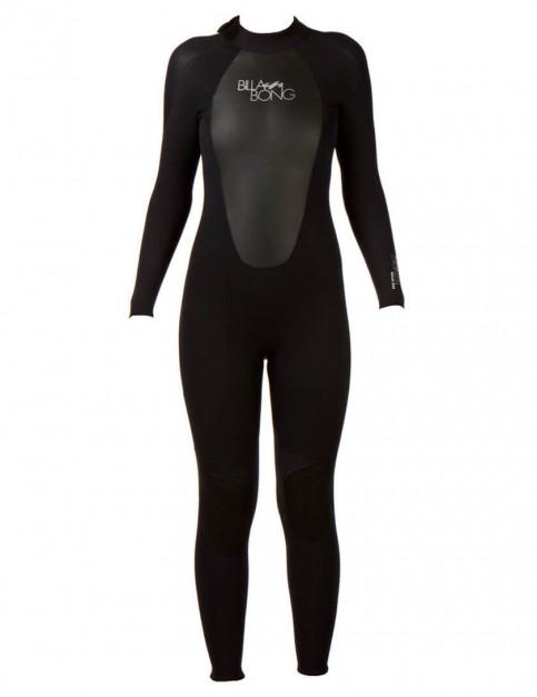 Billabong Ladies Launch 5/4/3mm Wetsuit 2017 - Black/Black/Black