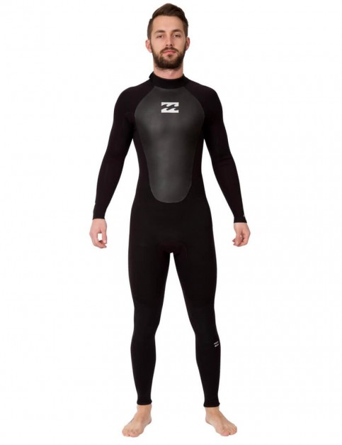 Billabong Intruder 5/4mm Wetsuit 2017 - Black