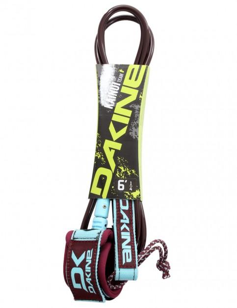 DaKine Kainui Team surfboard leash 6ft - Garnet