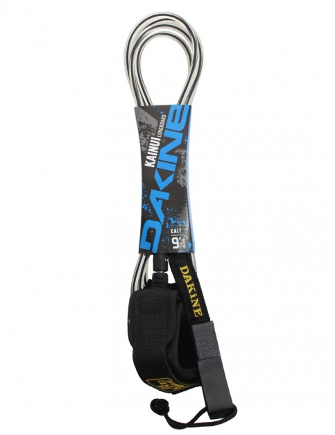 DaKine Kainui Calf Longboard Surfboard Leash 9ft - Black/Clear