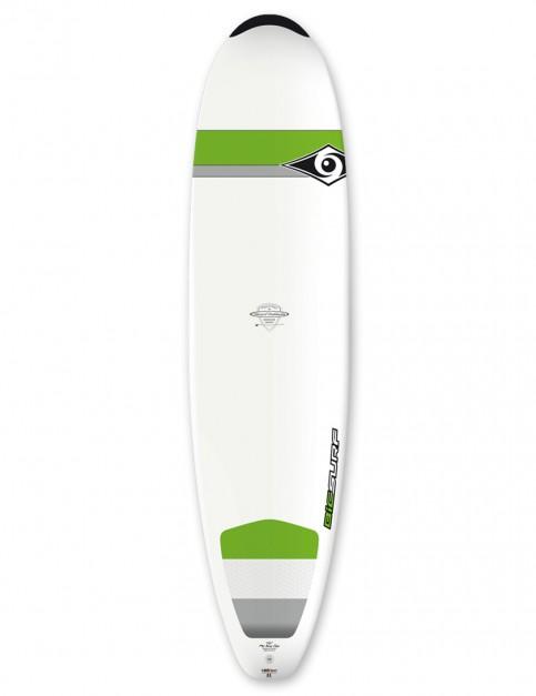 Bic DURA-TEC Mini Nose Rider surfboard 7ft 6 - Green