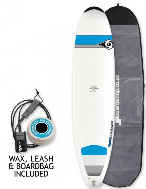 Bic DURA-TEC Natural Surf 2 surfboard package 7ft 9 - Blue