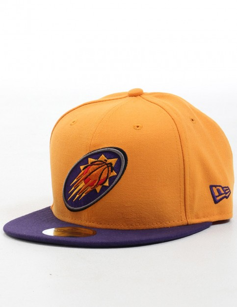 New Era NBA Team Flip Pheonix Suns 59FIFTY Fitted cap - Orange/Purple