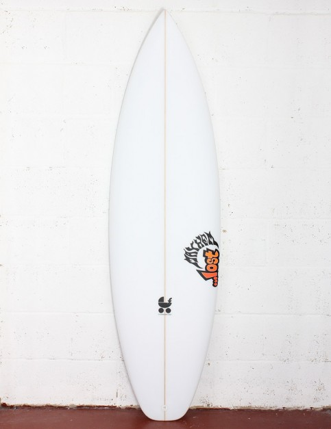 Lost Baby Buggy surfboard 6ft 4 FCS II - White