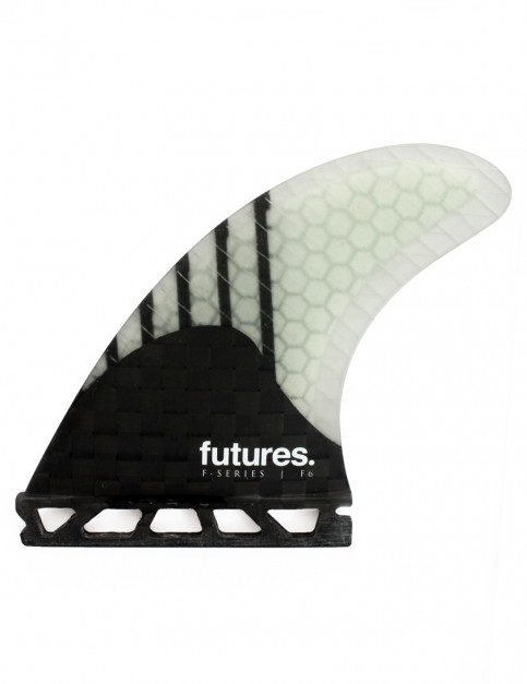 Futures F6 Generation Five Fins Medium - Black/Clear