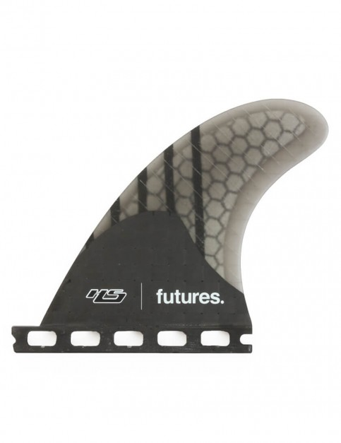 Futures HS 4.20 Generation Quad Rear Fins Large - Black