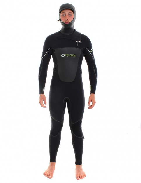 Typhoon Kona 6/5/4mm Hooded Wetsuit 2017 - Black