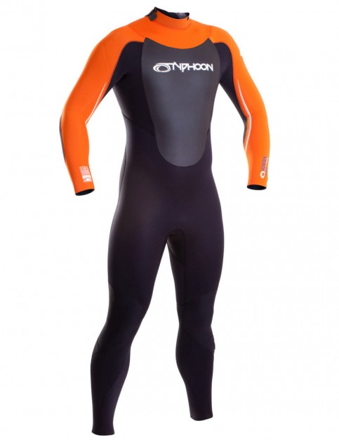 Typhoon Vortex 5/4/3mm Wetsuit 2017 - Orange