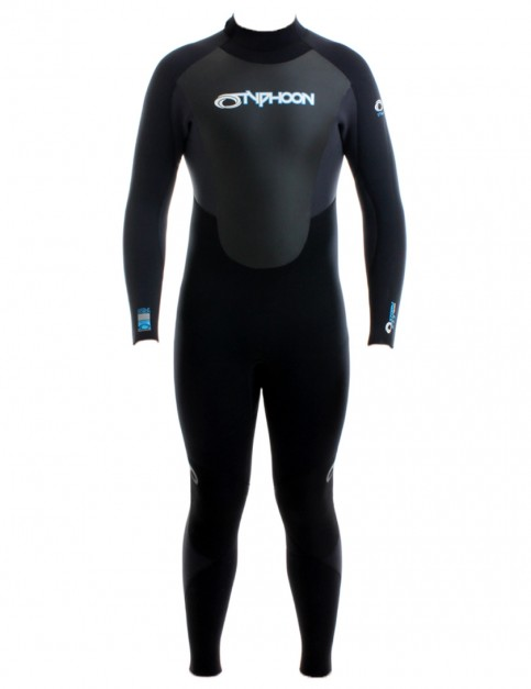 Typhoon Storm 5/4/3mm Wetsuit 2017 - Black/Graphite